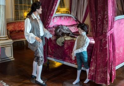 Exposition costumes 18ème siècle