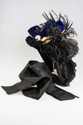 Exposition Costumes : précieux velours