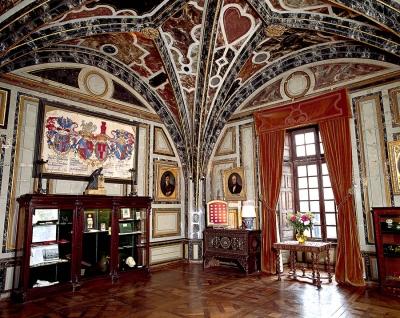Intérieur du Château d'Ussé