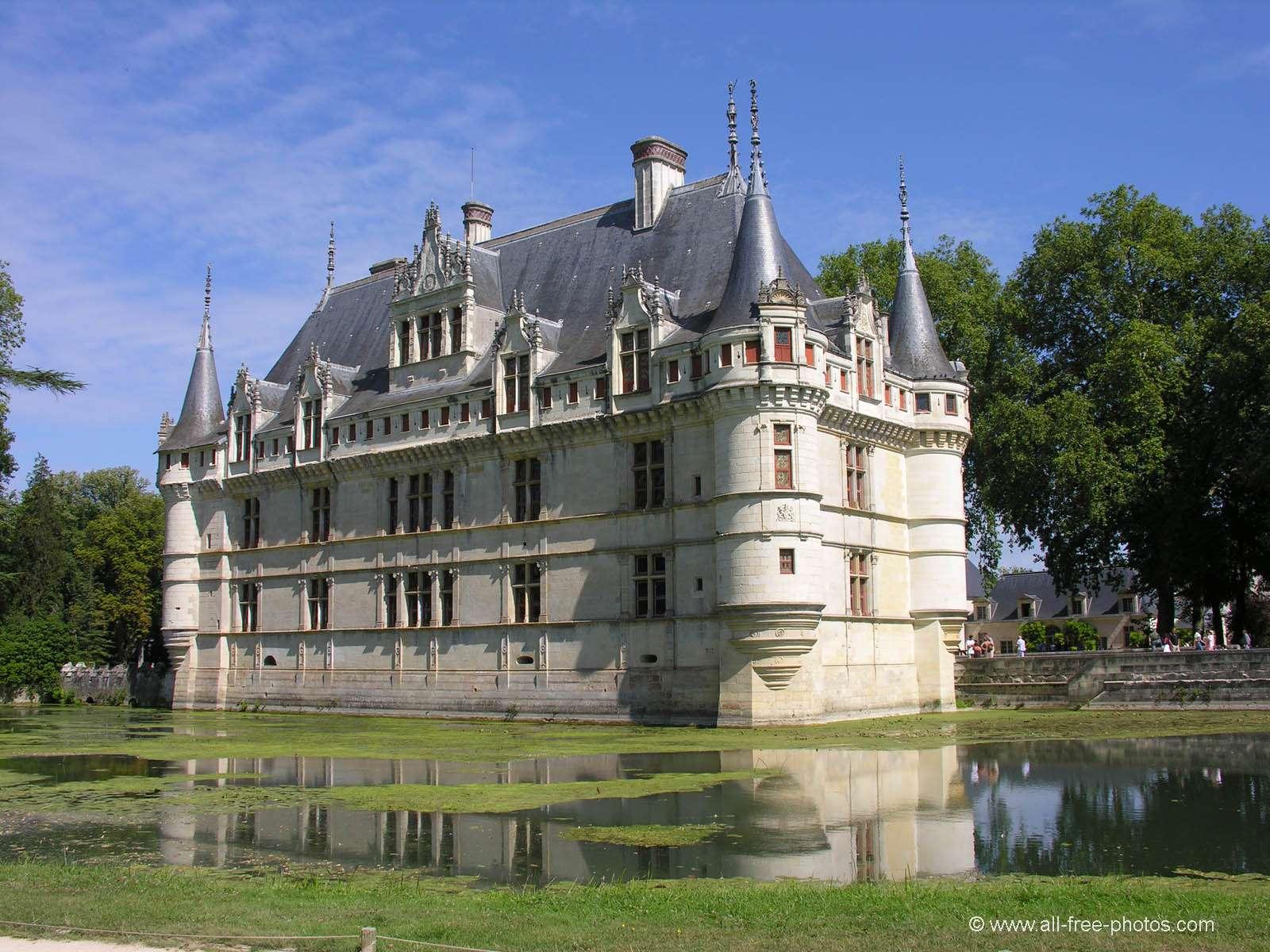 Le Château d\'Ussé | Château de la Belle au Bois Dormant – Loire – Accès