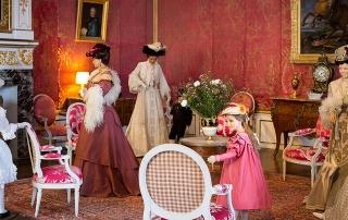La belle époque au Château d'Ussé - costumes