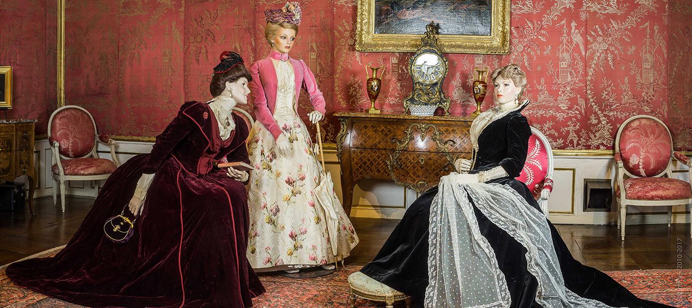 chateau Ussé - Exposition Précieux velours 2017