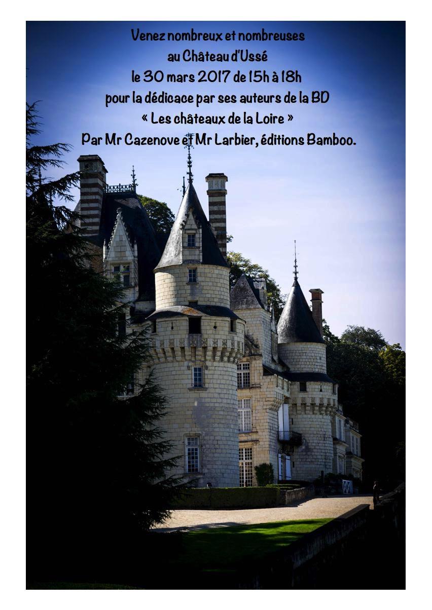 BD Usse - Les chateaux de la Loire