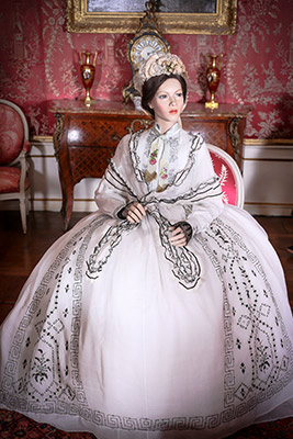 Exposition costumes - Broderie