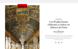 Les 10 plus beaux châteaux à visiter en dehors de Paris